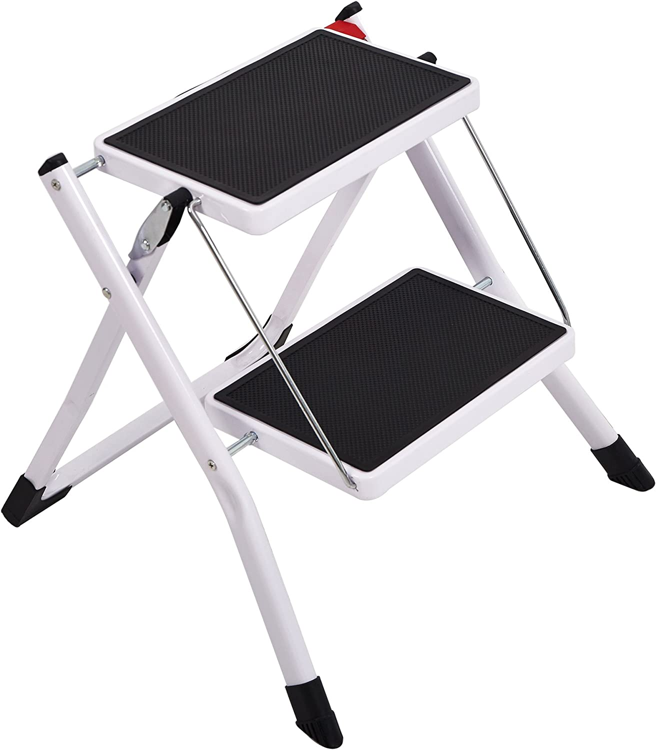 Foldable Step Stool Wide Pedal 2 Kit Fort Worth Mall Home Small Ladder Cheap super special price