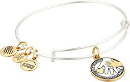 Hand in Hand II Two-Tone Bangle