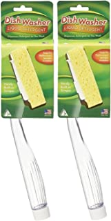 Arrow Plastic Dish Sponge with Handle, 2 Count