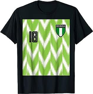 Nigeria soccer t-shirt jersey Russia 2018 football