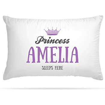 Name Sleeps Here Pillow Case