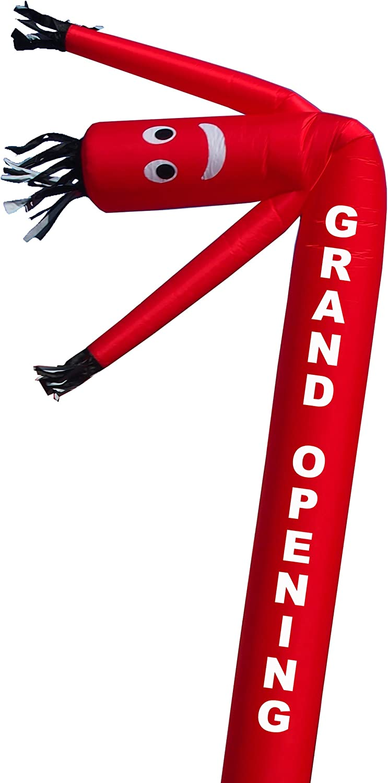 ofrecemos varias marcas famosas Torero Inflatables Inflatables Inflatables Tubo de Bailarina de Aire Inflable de Hombre con Letras de Grand Apertura, 20-Feet  gran venta