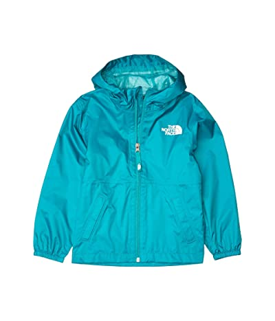 The North Face Kids Zipline Rain Jacket (Little Kids/Big Kids) (Jaiden Green) Girl