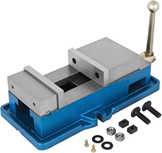 Happybuy 5 Inch ACCU Lock Down Vise Precision Milling Vice 5 Inch Jaw Width Drill Press..