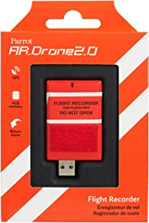 Parrot AR.DRONE 2.0 Flight Recorder: GPS, 4GB, return to take-off location feature