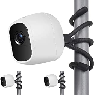 2 Pack Flexible Tripod for Arlo Pro 2, Arlo Ultra, Arlo Pro,Arlo Baby, Arlo Pro 3, Arlo Go,Arlo Wall Mount Bracket,Attach ...