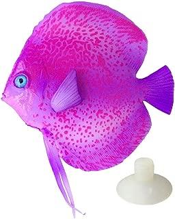 Saim Lifelike Plastic Artificial Moving Floating Fish Ornament Decorations for Aquarium Fish Tank