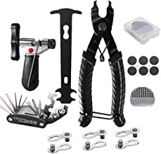 Fengzio Bicycle Chain with Chain Gauge Bicycle Chain Tool and Kett