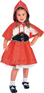 Forum Novelties Kids Deluxe Lil' Red Riding Hood Costume, Toddler, One Color