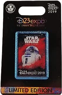 Disney Pin - D23 Expo 2019 - Star Wars - R2-D2