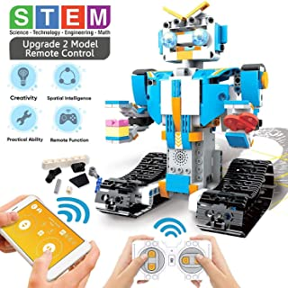 Science Kits for Boys 8-12,Building Block Remote Control...
