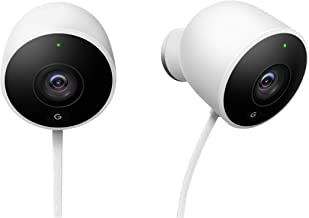 Nest Cam Outdoor Security Camera, Pack of 2