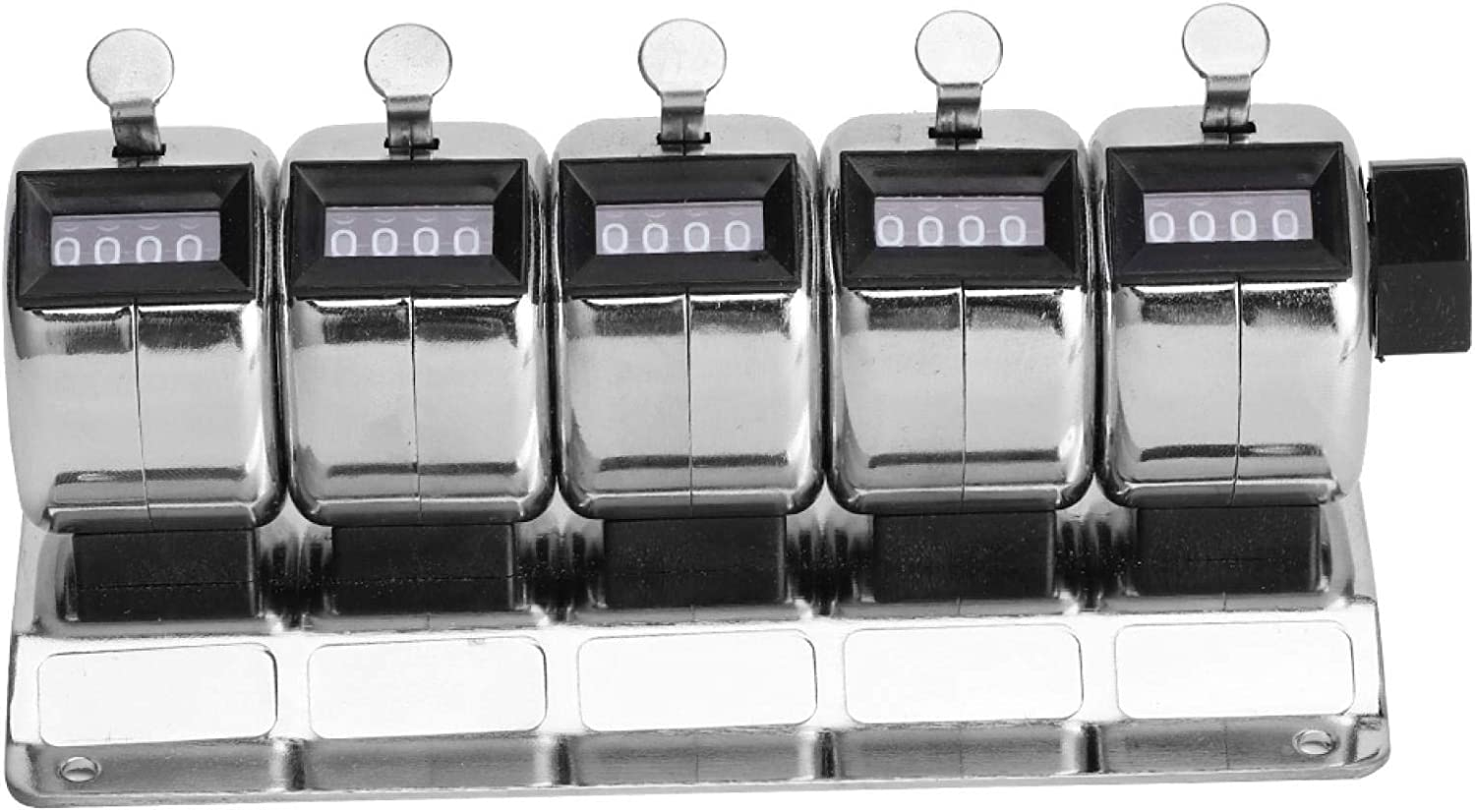 Hand Tally Counters Mechanical Counter Clicker 4âdiscount Metal Manual Sale item