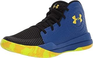 Unisex-Kid's Pre School Jet 2019 Basketball Shoe, Royal (404)/Taxi, 3.5