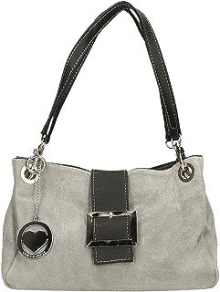 Chicca Borse Bag Borsetta a Mano in Pelle Made in Italy 26x18x12 cm