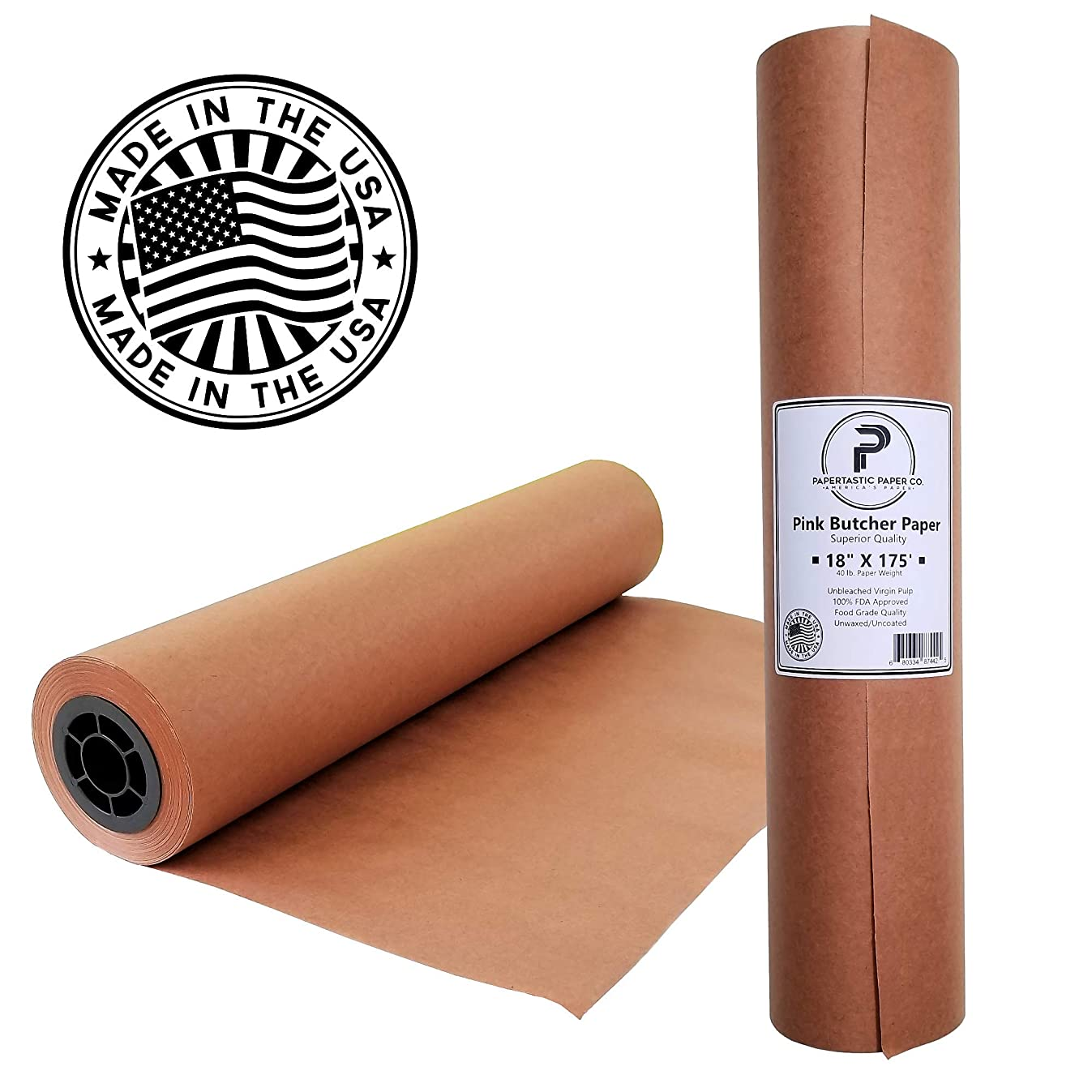 Pink Butcher Paper Roll 18