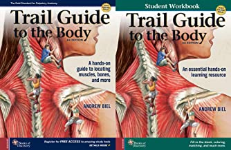 Trail Guide To The Body 6th Edition Textbook Workbook Set - Learn Anatomy & Palpation