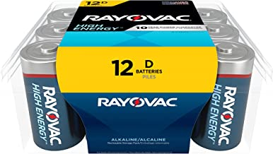product image for Rayovac D Batteries, Alkaline D Cell Batteries (12 Battery Count)