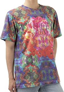 [ジェームズ・スクエア] エスニック トロピカル Tシャツ ゆったり 大きめ USサイズ メンズ