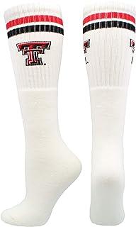 TCK Texas Tech Red Raiders Socks Throwback Tube