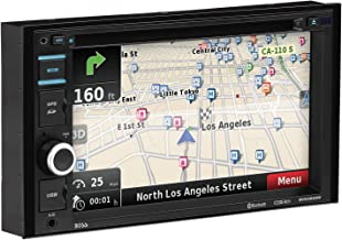 BOSS Audio Systems BV9382NV Double Din, Touchscreen, Bluetooth, Navigation GPS, DVD CD MP3 USB SD AM FM Car Stereo, 6.2 Inch Digital LCD Monitor, Wireless Remote