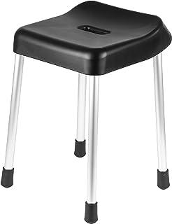 【BLKP】 パール金属 風呂 椅子 バススツール 高さ40cm 日本製 ブラック BLKP 黒 HB-850