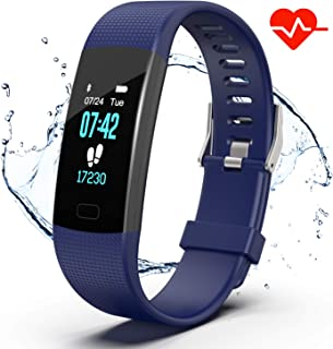 Apirka Fitness Tracker HR, Activity Tracker Watch with...