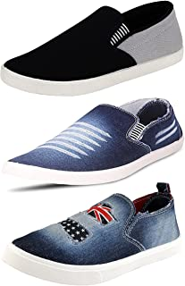 Ethics Perfect Stylish Combo Pack of 3 Sport Snekers Shoes for Men