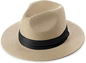 Paladoo Women Wide Brim Fedora Beach Sun Hat Summer UPF50+