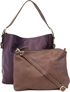 Joy Susan Women's Classic Hobo 2-in-1 Handbag