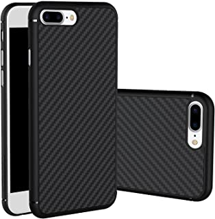 For iPhone 7 Plus Case, Nillkin Synthetic Fiber Premium Bumper Case Cover [Carbon Fiber][Compatible with Magnetic Phone Holder] for iPhone 7 Plus 5.5