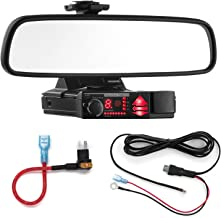 Radar Mount Mirror Mount Bracket + Direct Wire Power Cord + Micro2 Fuse Tap for Valentine V1 (3001604) photo
