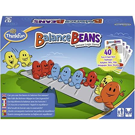 Think Fun- Balance Beans Juego de Habilidad (Ravensburger 76344)