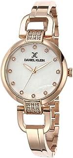 ساعة دانيال كلاين بريميوم خليط معدني بسوار ستانلس ستيل للنساء - DK.1.12503-3
