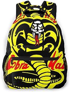 Mochila con Logotipo Cobra Kai 2020 Bolsas de Hombro Unisex portátiles