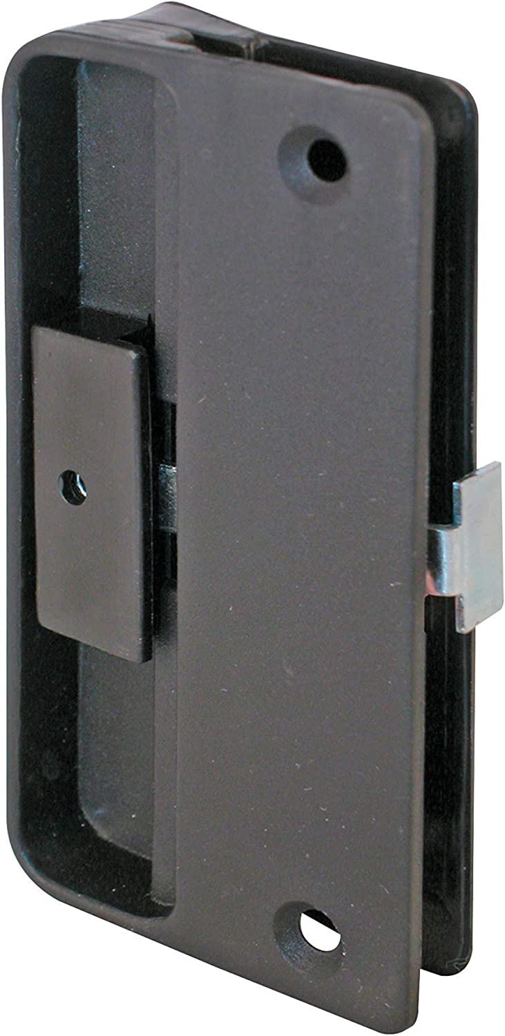 Slide-Co 121087 Mortise Recommendation Type Screen Choice Door P and Black Latch Pull
