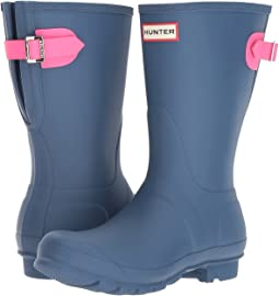 Hunter - Original Short Back Adjustable Rain Boots