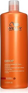 Wella Enrich Volumizing Shampoo for Fine Hair 33.8 Ounce