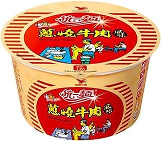 《統一》 ネギ燒牛肉風味 (90g) (葱焼肉風味・カップラーメン) 《台湾 お土産》 [並行輸入品]