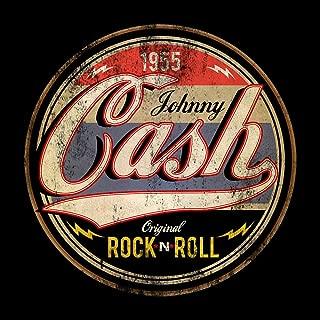 Johnny Cash Stickers Original Rock n Roll/Johnny Cash Decal Vinyl car bamper, Truck, Laptop, tumblers Gitar