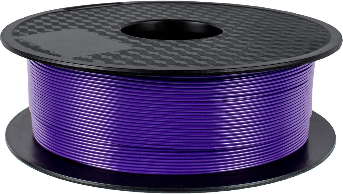 PLA Filament 3 Spulen 0,5 kg pro Spule DERUC Geeetech Silk Filament PLA 1,75 mm f/ür 3D Drucker Gold+Silber+Kupfer