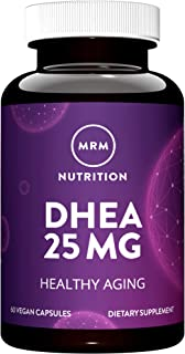MRM DHEA, Micronized – 25mg, 60 Vegan Capsules
