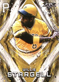 2017 Topps Fire #12 Willie Stargell Pittsburgh Pirates Baseball Card