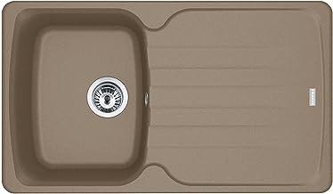 Franke Antea AZG 611 Cashmere - 114.0477.979 granieten spoelbak Excenterbediening