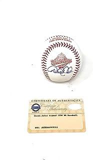 Derek Jeter New York Yankees Signed Autograph Official MLB 1996 World Series Ball Steiner Sports Certified