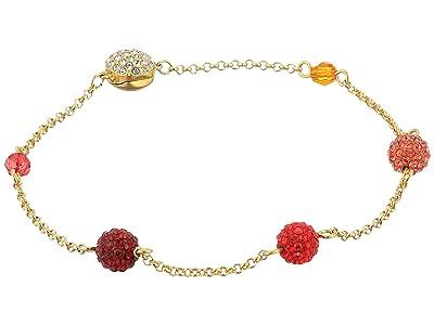 Swarovski Remix Collection Pop Strand Charm Bracelet (Gold/Multi/Gold Shiny Plating) Bracelet