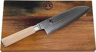 Kai Shun Classic Kiritsuke DM-0771W Couteau de Cuisine Japonais numéroté en Acier damassé 34 x 21 cm