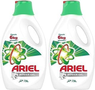 Ariel Automatic Power Gel Original Scent Laundry Detergent, 2 x 3 liters