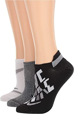 Everyday Plus Lightweight No Show Training Socks 3-Pair Pack