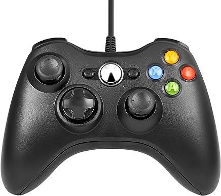 xbox 360 mando, Gamepad, Controlador de Gamepad, Xbox 360 Controlador común para Windows XP/7/8/10, Android (TV box / smartphone / tablet)